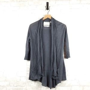 Angel of the North open fron Cardigan | Size XS